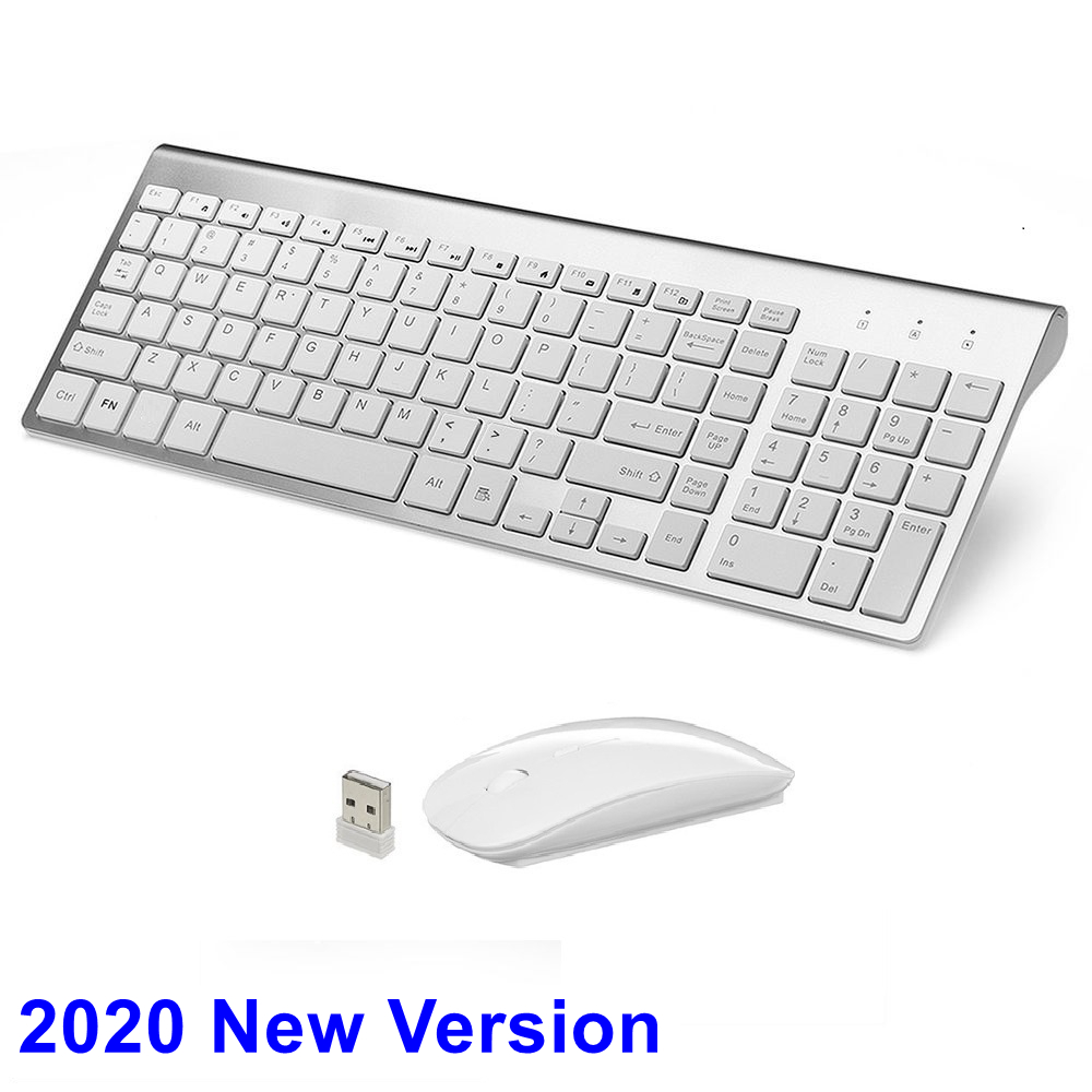 Wireless MINI Keyboard and Mouse Set for I-Mac A1311 Computer WT HS
